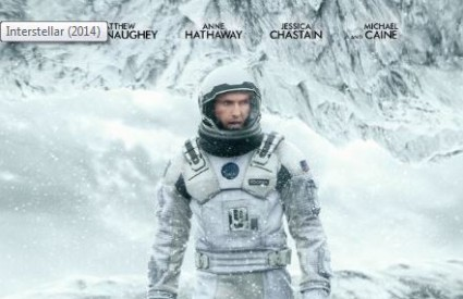 Interstellar - najbolji film 2014. po ocjeni publike