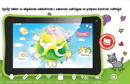 KidsGear! tablet za djecu