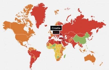 Kinezi traju najdulje, Bosanci najkraće