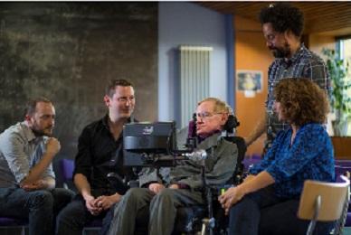 Stephen Hawking i ekipa iz Intel Labsa