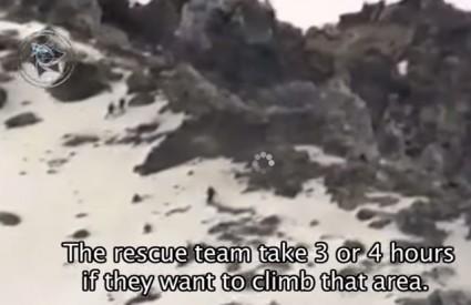 Čudna bića penju se na vulkan nadljudskom brzinom