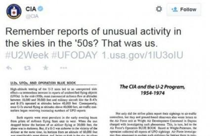 CIA obično nema komentara ...