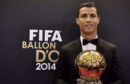 Cristiano Ronaldo obranio naslov najboljeg