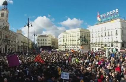 Podemos je ispunio ulice Madrida