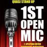 Večer otvorenog mikrofona @ Quasi STand Up