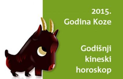 Godišnji kineski horoskop za godinu Koze - 2015.