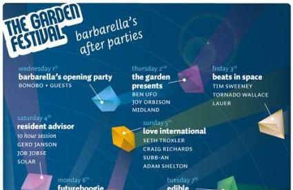The Garden Festival predstavio afterpartije