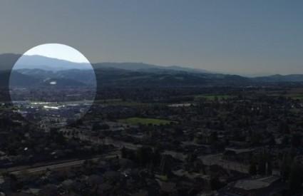 Fantastično brzi NLO iznad Silicijske doline