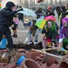 Frankfurt u kaosu, tisuću uhićenih