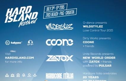 Hard Island Festival 2015