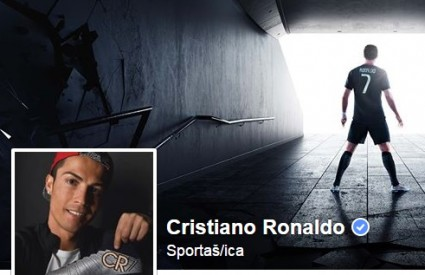 Cristiano Ronaldo je kralj Facebooka