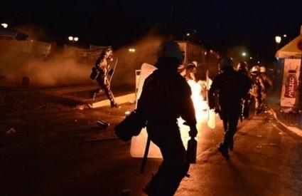 Kaos na ulicama Atene