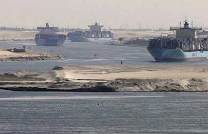 Proširen je Sueski kanal