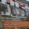 Plakati protiv vojnog mimohoda u Zagrebu