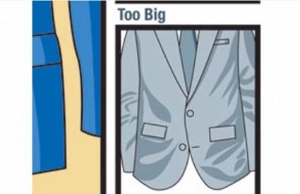 Ako vam odijelo stoji kao prasici sedlo ...