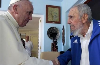 Papa i Fidel su porazgovarali više od pola sata