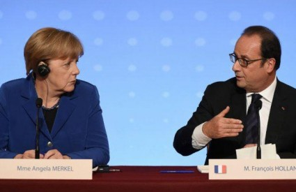 Merkel i Hollande zajednički prema Putinu