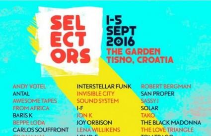 Selectors festival u Gardenu Tisno