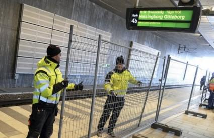 Šveđani dižu ograde na granici ...