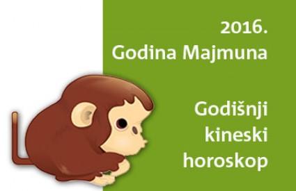 Veliki kineski godišnji horoskop za 2016. godinu Majmuna