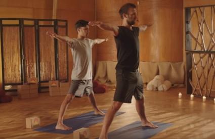 Do dobrog držanja uz jogu