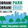 Obrani park, obrani grad - Subota, 10. rujna - Park Trnjanska Savica