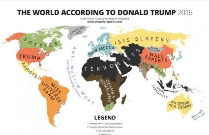 Evo kako Trump vidi svijet