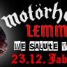Lemmy we salute you 23. prosinca u Jabuci
