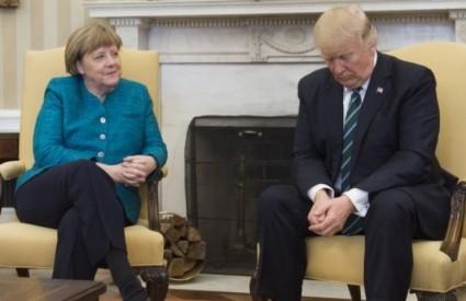 Merkel je suvereno nadigrala Trumpa