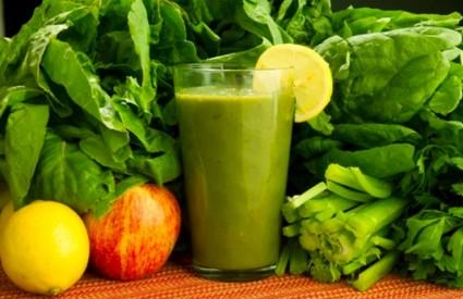 Zeleni smoothie pun je zdravlja