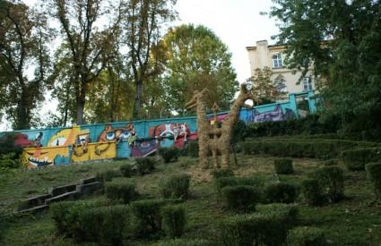 Slama opet stiže u Art Park