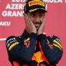 Ricciardo prvi u kaotičnoj utrci za VN Azerbajdžana