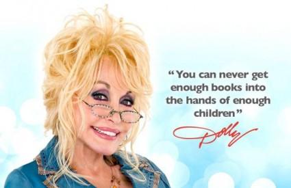 Dolly Parton dijeli knjige