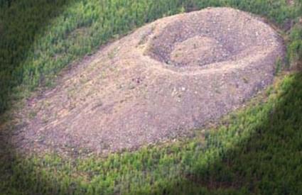 Fascinantni krater Patomskiy