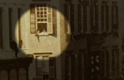 Ono kad klinac koji će biti američki predsjednik s prozora gleda sprovod - Lincolna!