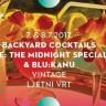 Backyard Cocktails Party 7. & 8. srpnja u Vintageu