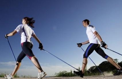 Naučite nordijsko hodanje i uživajte