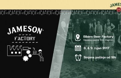 Jameson Factory stiže u Zagreb