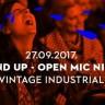 Povratak najmasovnije STAND UP večeri u Zagrebu - srijeda, 27. rujna Vintage Industrial