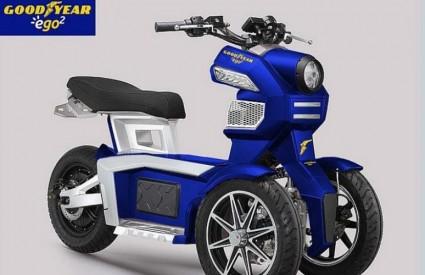 Zanimljivi električni tricikl