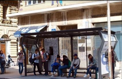 Pametna autobusna stanica u Rijeci