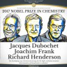 Nobelova nagrada za kemiju Dubochetu, Franku i Hendersonu