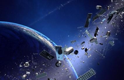Svemirskog otpada ima napretek