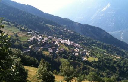 Mjesto Albinen u Švicarskoj