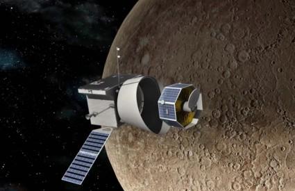 Bepi Colombo ide na Merkur