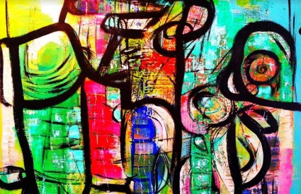 Eksplozivni kolorizam obilježje je rada Mladena Žunjića