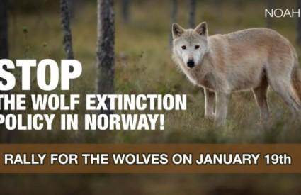 Podržite norveške vukove