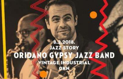 Sjajni Oridano Gypsy Jazz Band na Jazz Storyju