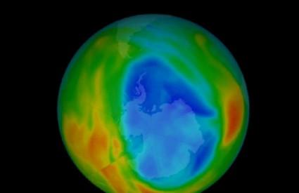 Ozonska rupa je najmanja u posljednjih 30 godina