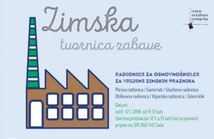 Dođite na zimsku tvornicu zabave u CeKaTe!